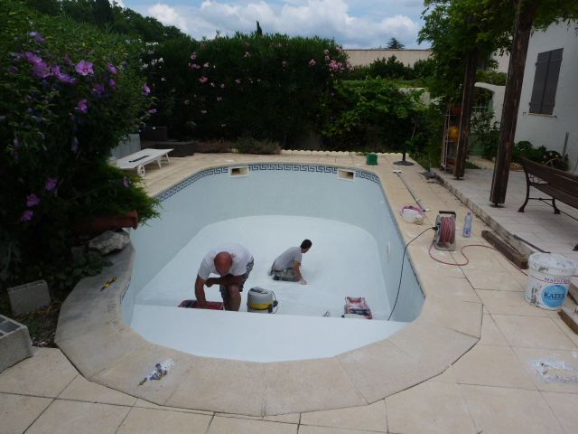 Mosaique de piscine saint aunes h rault carrelage pour for Carrelage piscine mosaique