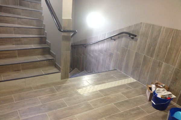 Pose De Carrelage Escalier H Rault Chantier Carrelage