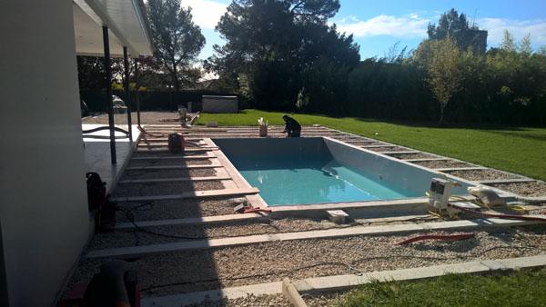 pose de carrelage piscine h rault chantier carrelage pour particuliers. Black Bedroom Furniture Sets. Home Design Ideas